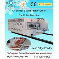 China Industrial Flexo Printer Slotter Machine With Double Oil Pipe Balance System on sale