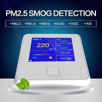 Quality Know What's in the Air You Breathe - Air Quality Monitor Formaldehyde(HCHO) Monitor with PM2.5/PM10/TVOC Test USA for sale