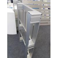 Quality Silver Anodized 6063 T5 Welding Aluminum Parts / Aluminum Pallet for sale