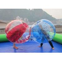 Quality Outdoor adult N kids inflatable bumper ball football bumper ball for commercial use with high quality for sale