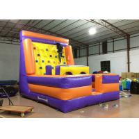 Quality Inflatable Water Climbing Wall / Tower , Funny Attractive Blow Up Climbing Wall for sale