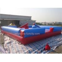 Quality Exciting Inflatable Sports Games , Inflatable Twister Game safety for sale