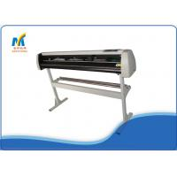 Quality 1.35 Meters Vinyl Cutting Plotter Machine With Double Cutter Position / Pressing Strips for sale