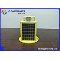 Buy cheap White Medium-intensity Type A Solar Powered Aviation Light for High Building from wholesalers