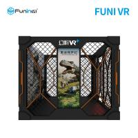 Buy cheap Floor Vibration VR Shooting Simulator With 42 Inch Display Screen High from wholesalers