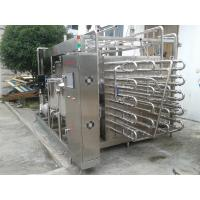 China Tube Type UHT Sterilization Machine Stainless Steel High Thermal Efficiency on sale