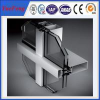 Quality NEW! 6000 series aluminum curtain wall extrusion profiles, china aluminium profiles for sale