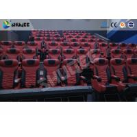 Buy Large Mobile 4D Movie Theater Equipment , Motion Chairs With Comfortable at wholesale prices