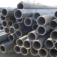 Quality Q195 - Q345 Thick Wall Steel Welded Pipe ASTM A53 BS1387 , Round Structure / Fluid Pipe for sale