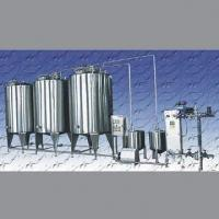 China Brewhouse CIP Cleaning System with Sterile Water Tank on sale