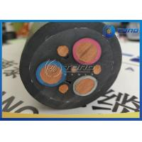 Quality Mine Rubber Insulated Cable 3x6 AWG Mm2 Reinforced Braided Structure for sale
