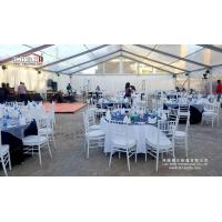500 people transparent marquee tent for outdoor party venue with luxury decoration for sale