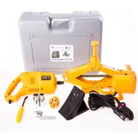 Quality automatic emergency tools 1-10 tons electric car jack with electric impact wrench for sale