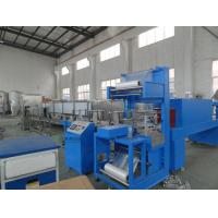 China 15000BPH Glass Bottle Shrink Packing Machine , Bottled Water Plants on sale