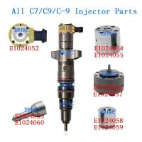 Quality ERIKC CAT C7 10R4763 common rail injector parts 222-5958 222-5962 middle plate control valves 238-8091 241-3400 for sale