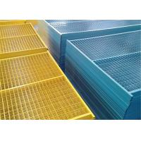 Buy cheap Galvanized Canada temporary fence,high standard construction fence,removable fence from wholesalers