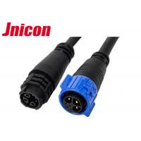 Auto Signal IP67 Male And Female Electrical Connectors For Outdoor Lighting