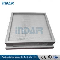 Quality Space Saving High Efficiency HEPA Filter Well Sealing Performance For GMP Class for sale
