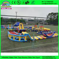 Buy cheap outdoor inflatable water trampoline with slide for sale/ Inflatable Aqua Park/ from wholesalers