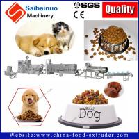 Quality 500kg/h full automatic dog food  processing making machine for making dog food for sale