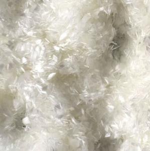Buy 25mm Concrete Pet Fiber Staple/100% Pet Flakes Virgin Polyester Staple Fiber/PET at wholesale prices
