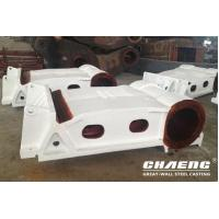 Quality Steel casting fixed and moving jaw plate for crusher for sale
