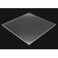 Quality Laser Dot LGP Acrylic Light Guide Panel 92% Transmittance Abrasion Resistant for sale
