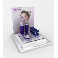 Quality Cosmetic Display Shelves Skin Care Products Display Pmma With Gloss Surface for sale