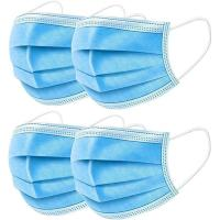 Quality Breathable 3 Ply Disposable Face Mask For Anti Droplet / Particulate / Bacteria for sale