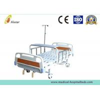 ABS Head 2 Crank Clinical Best Bed Medical Hospital Beds I.VPole (ALS-M234)