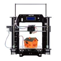 China HICTOP DIY 3d printer with fIlaments monitoring funtionable acrylic 3d printer on sale