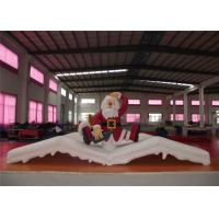 Quality Christmas Blow Up Yard Decorations , Waterproof Blow Up Christmas Lawn Decorations for sale