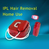 Quality Red Color Home Beauty Equipment Machine , IPL  Armpit Hair Removal Machine for sale