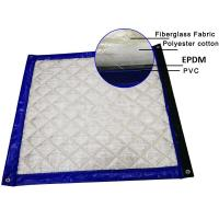 Quality Green Color Noise Blankets 5 layers + PVC Membrane Layers 40dB noise Insulated Customized Size for sale