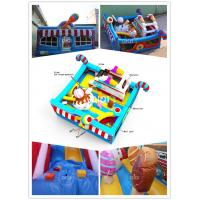 Quality Qiqi inflatable icecream toddler bouncy playground for sale