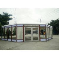 Quality Octagonal Marquee Party Tent Wood Grain -30 To 70 °C Temperature Resistance for sale