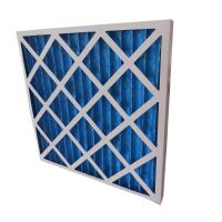 Quality Washable Pre Pleated Medial Air Filter Industrial Hepa Filters For HVAC Systems for sale