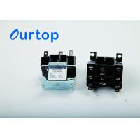 Quality AC Relay Switch Air Conditioner Relay With 208-240 VAC Coil Voltage Overload Protection for sale