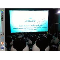 Buy Snow Effect 220V Mobile 5D Cinema System , Luxury 5D Mobile Seats at wholesale prices