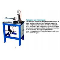 Quality Corrugated Pipe End Facing Machine For Stainless Steel Welding Corrugated Hose for sale