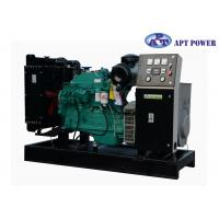 Quality Green Soundproof Industrial Cummins Diesel Generator Set With 6 Cylinder for sale