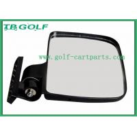 Durable Golf Cart Side Mirrors HD Vision / Golf Cart Accessories Vibration Resistant