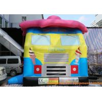 Quality Ice Cream Truck Inflatable Bouncy Castle Durable And Safety EN14960 ROSH for sale
