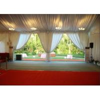 China PVC Tarpaulin Garden Party Tent , Outside Tent Weddings 5 M Bay Distance for sale
