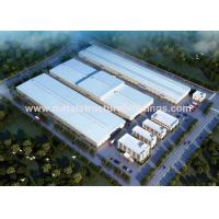 Temporary Steel Building Warehouses , Prefabricated Modular Building Systems for sale
