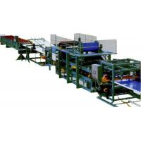 China Colored Steel Continuous Sandwich Panel Production Line With 5 Tons Capacity on sale