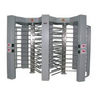Quality 316 Stainless Steel Full Height Turnstile Double Door With Access Control Software for sale