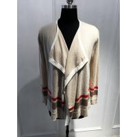 Quality Anti Shrink Cashmere Cardigan Womens , Women'S Open Front Cardigan Sweaters for sale