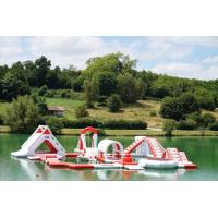 Quality France Inflatable Commercial Water Park / Lake Inflatable Water Games Park for sale