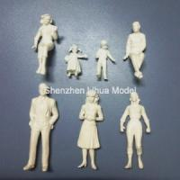 Quality 1:25 white figures,scale figure,architectural model people,scale peoples,G gauge people,ABS figures for sale